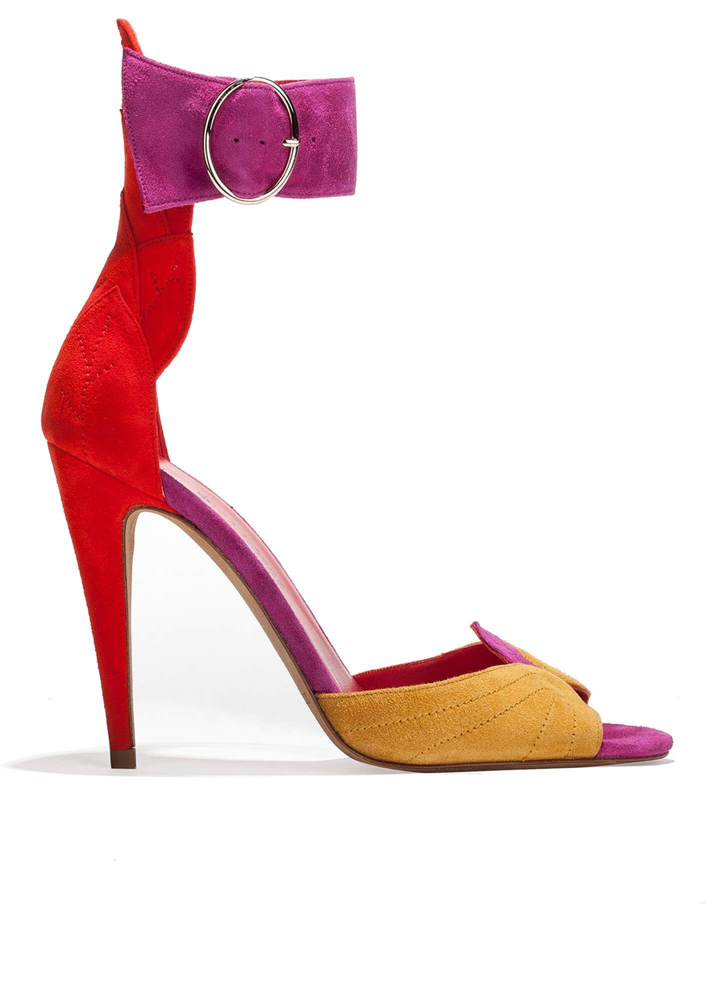854273e3db2 Sandalias de tacón alto con pulsera - tienda de zapatos Pura López · PURA  LOPEZ