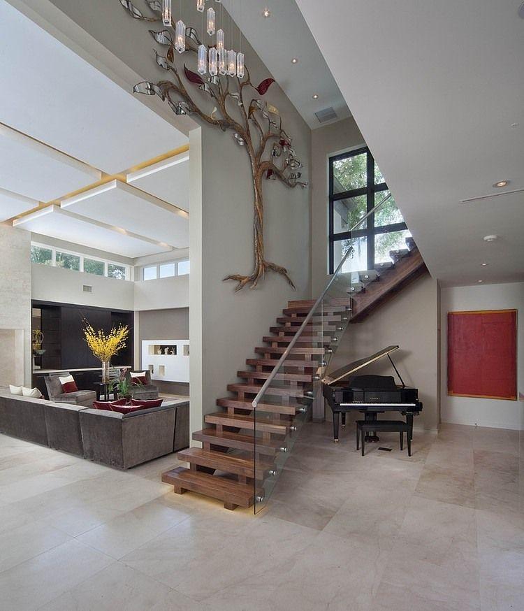 Miwa modern staircase orlando by phil kean design group