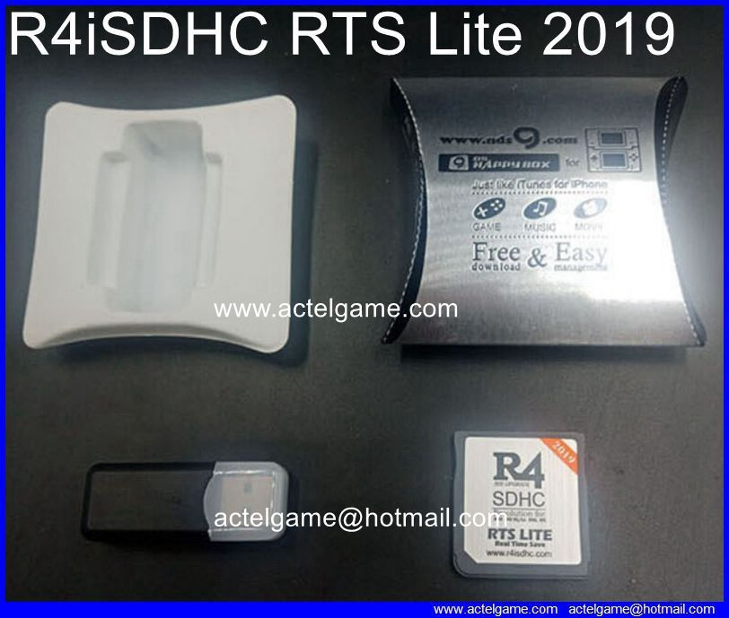 R4iSDHC RTS lite 2019 Nintendo 3DS flash card Nintendo 3DS game card