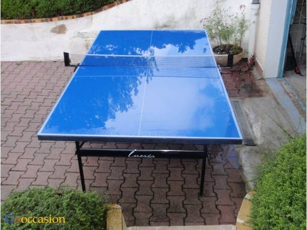table de ping pong inesis 5000 ext rieure. Black Bedroom Furniture Sets. Home Design Ideas