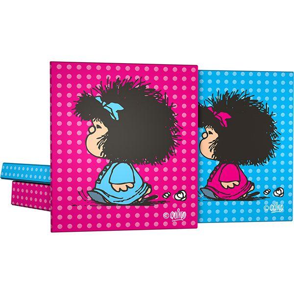 Colección Mafalda Pijama 2015, carpetas de 4 Anillas #mafalda #grafoplás #vueltaalcole #carpeta
