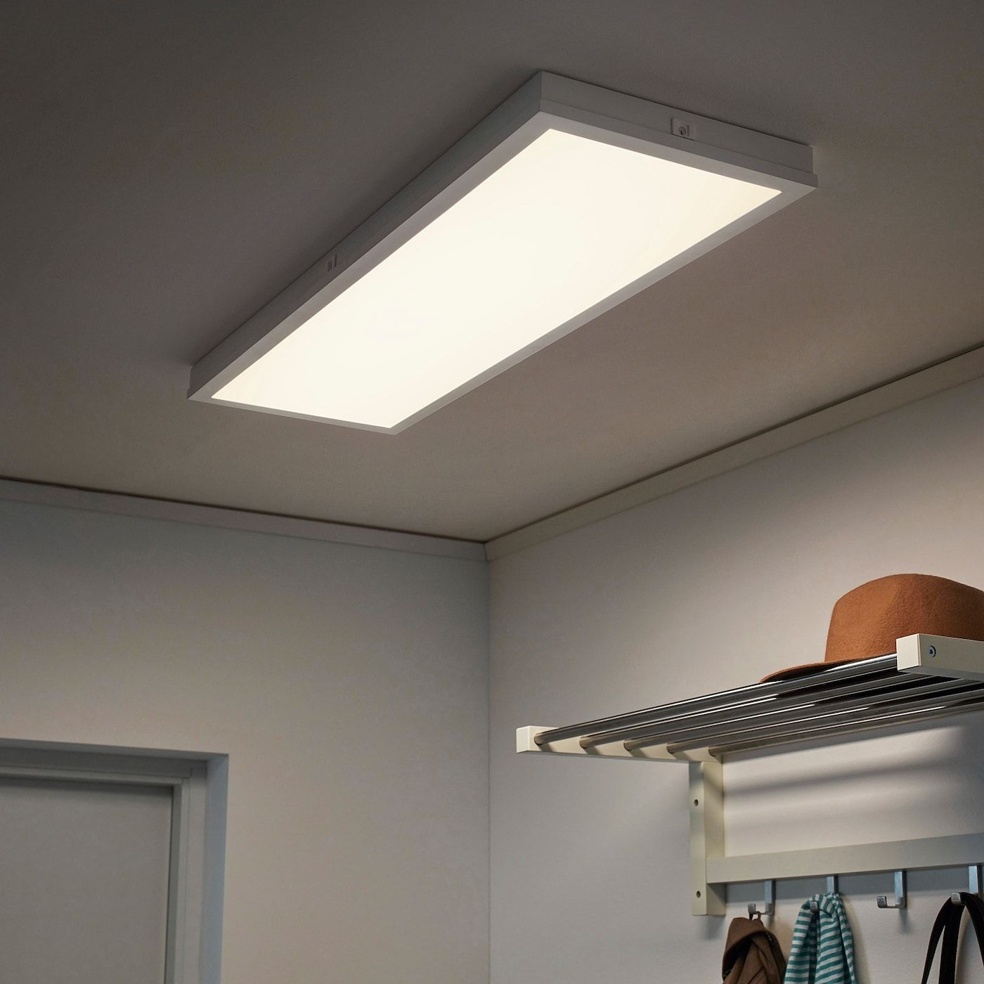 Floalt Panneau Eclairage Del Intensite Lumineuse Reglable Spectre Blanc 30x90cm Ca Fr Ikea In 2021 Led Panel Light Led Lights Light Panel