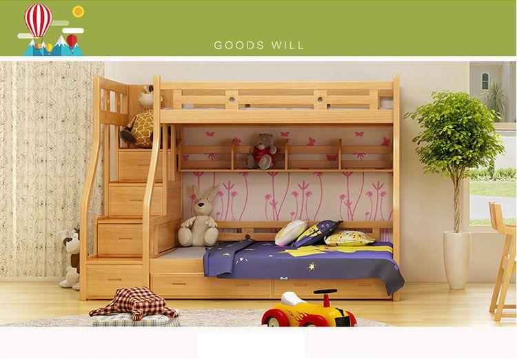 Encontrar Más Camas de madera Información acerca de Niños Muebles de ...
