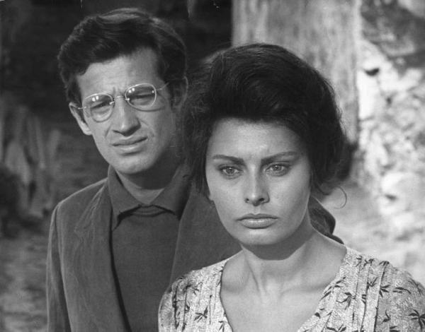 "Revoir La Ciocciara de De Sica, en hommage à un Bebel ""di nonno piemontese e nonna siciliana"""