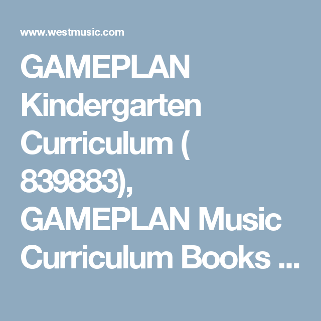 28+ Game Plan Music Curriculum Wallpapers
