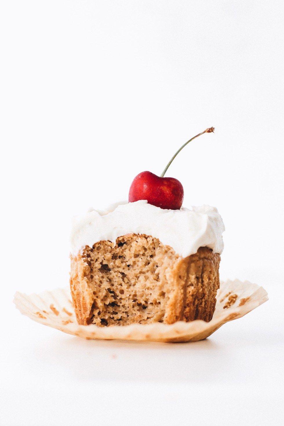 Vegan Vanilla Cupcakes Gluten Free Recipe Vegan Vanilla