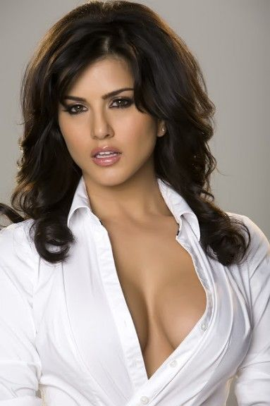 Sunny Leone in White Tight Shirt | Sunny L | Pinterest | The gap ...
