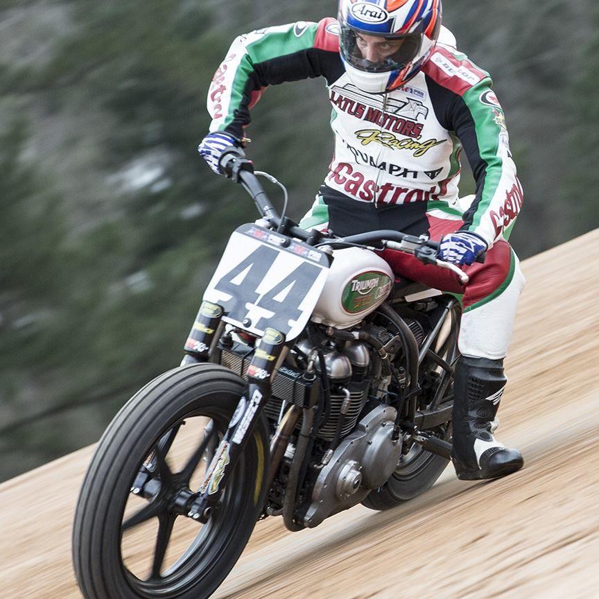 Will Pilot The Latus Motors Racing Castrol Moto Ama Pro Flat Track Flat Track Motorcycle Flat Track Racing Triumph Motorcycles