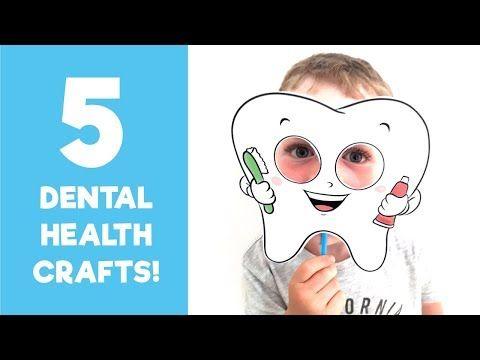5 Kunsthandwerk für die Zahngesundheit – YouTube   – Dental health crafts