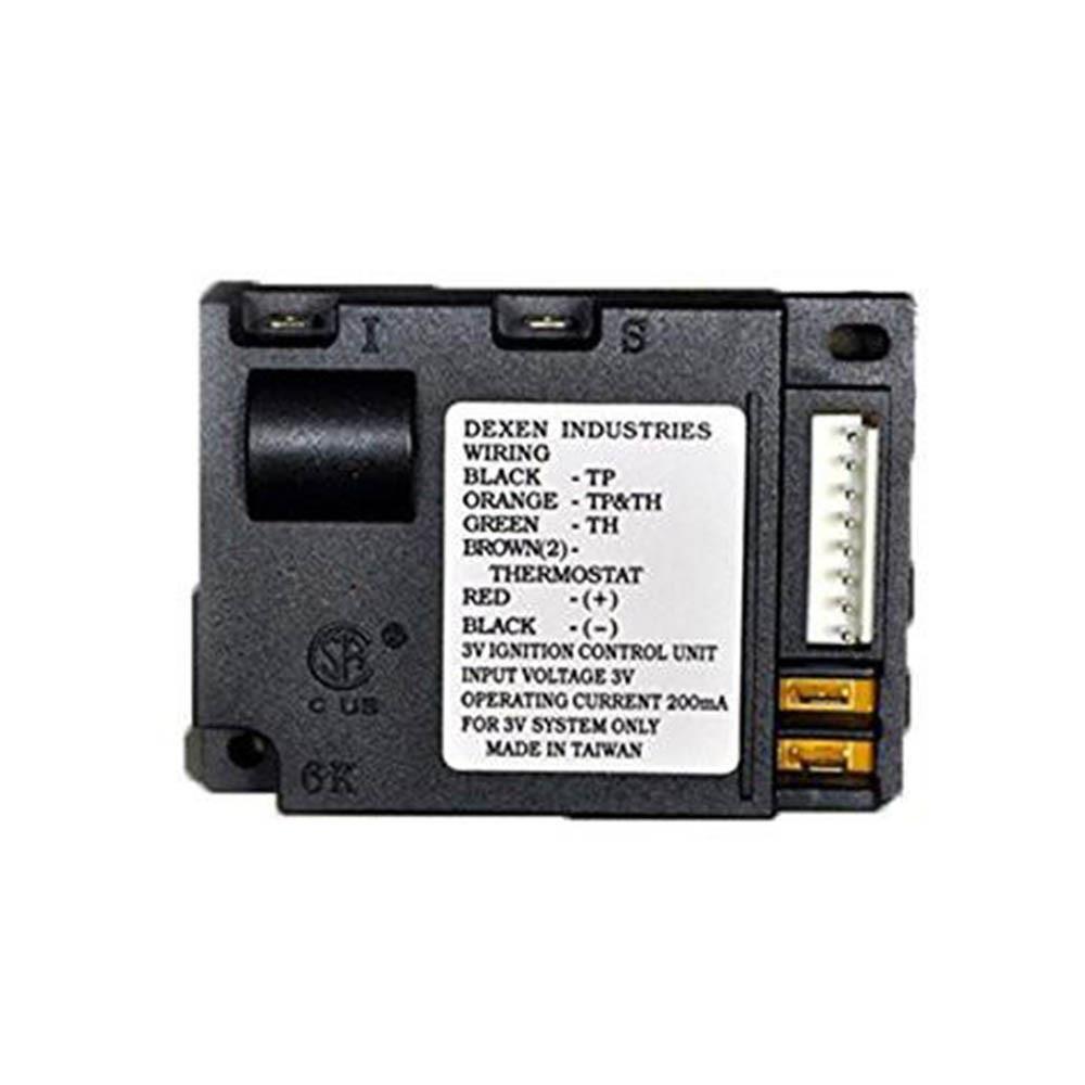 Fireplace Ignitor Module Electronic Dexen Ipi Electronic 593 592
