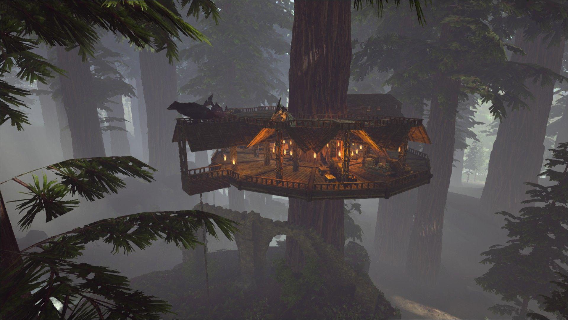 Treehouse Inspiration By Pellamelion On Steam Ark Game Ark