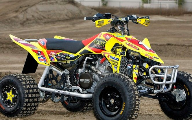 Suzuki 450 Quad Atv Quads Atv Dirtbikes
