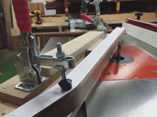 만들어둔 #jig 덕을 봤다. 다리 16개 정리  #woodworking #woodwork #routertable #chair_making #목공 #목수 #지그 #의자 #가구제작