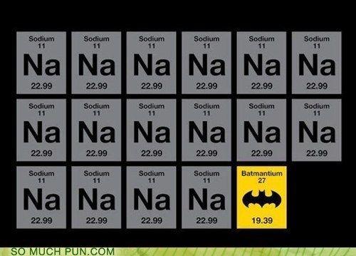 Not hey jude visual puns periodic table and nerd humor not hey jude urtaz Choice Image