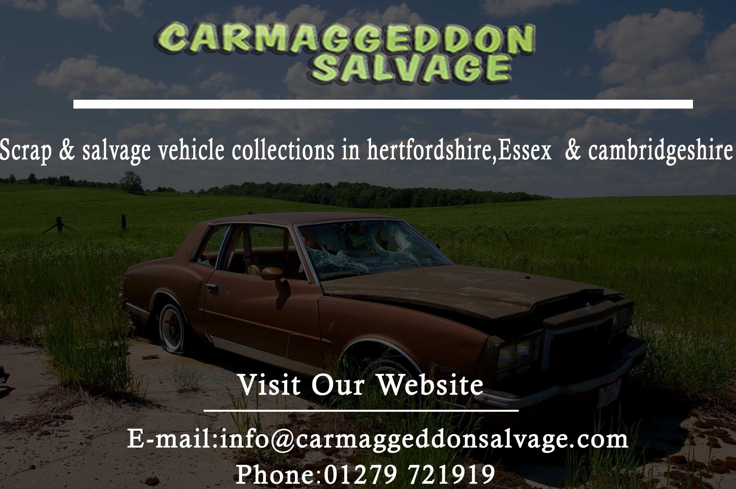 Scrap my car online at Carmaggeddon Salvage #ScrapMyCarOnline ...