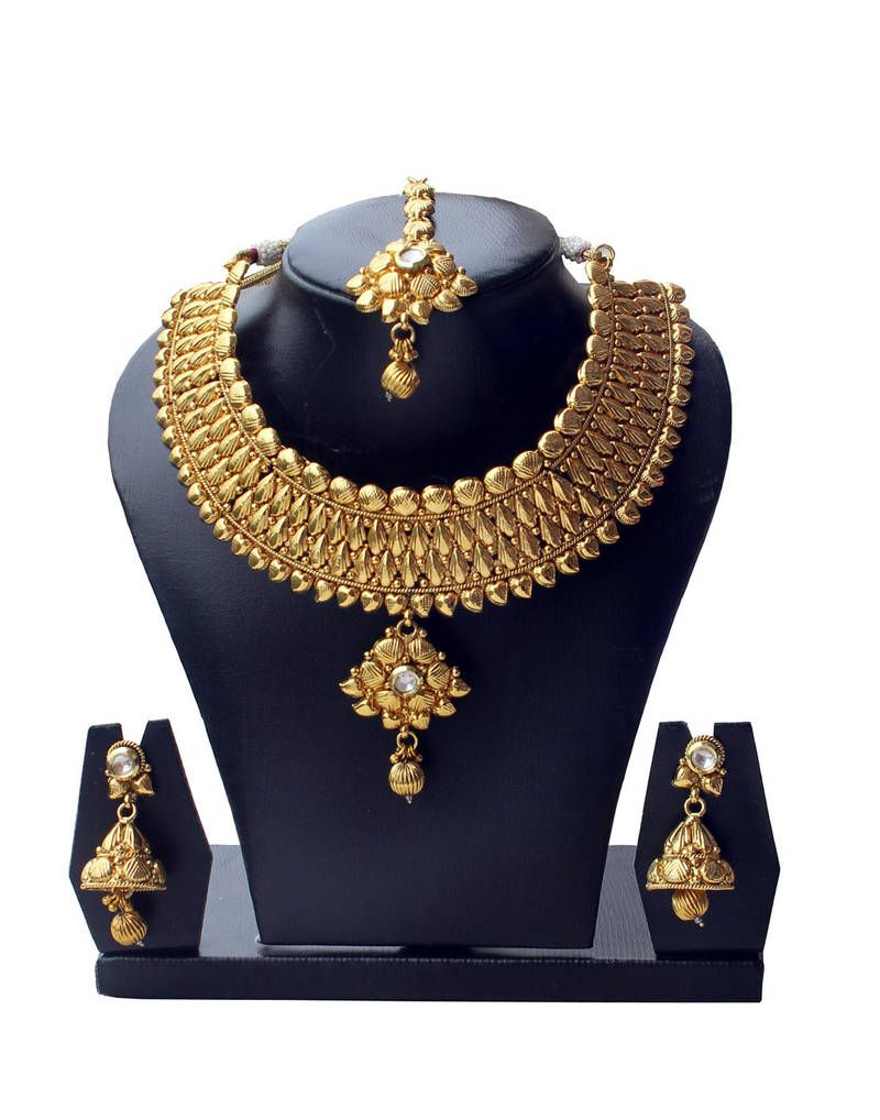 7aaa04eb6c1e5 Buy Bridal Set from Mirraw.com | Bridal Sets | Copper necklace ...
