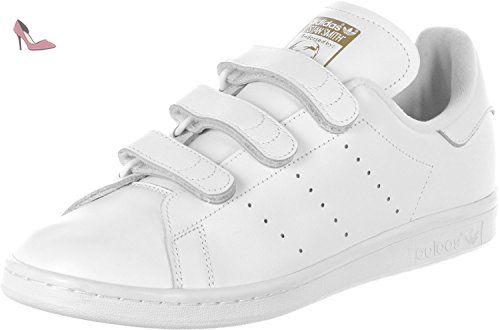 Stan Smith Cf   Adidas stan smith, Stan smith, White leather