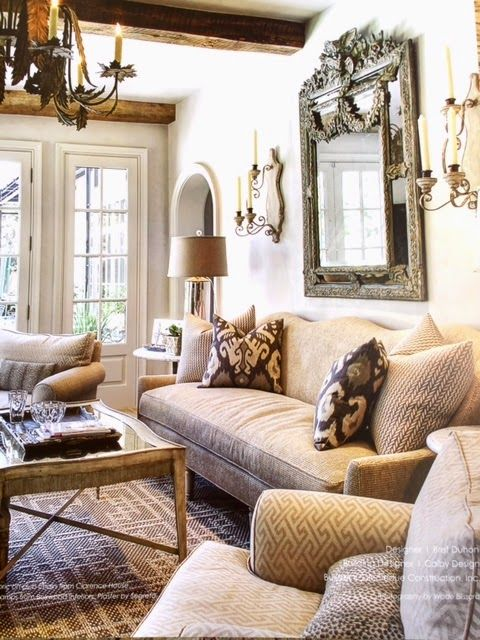 Simple Details Segreto Style Country Living RoomsLiving Room