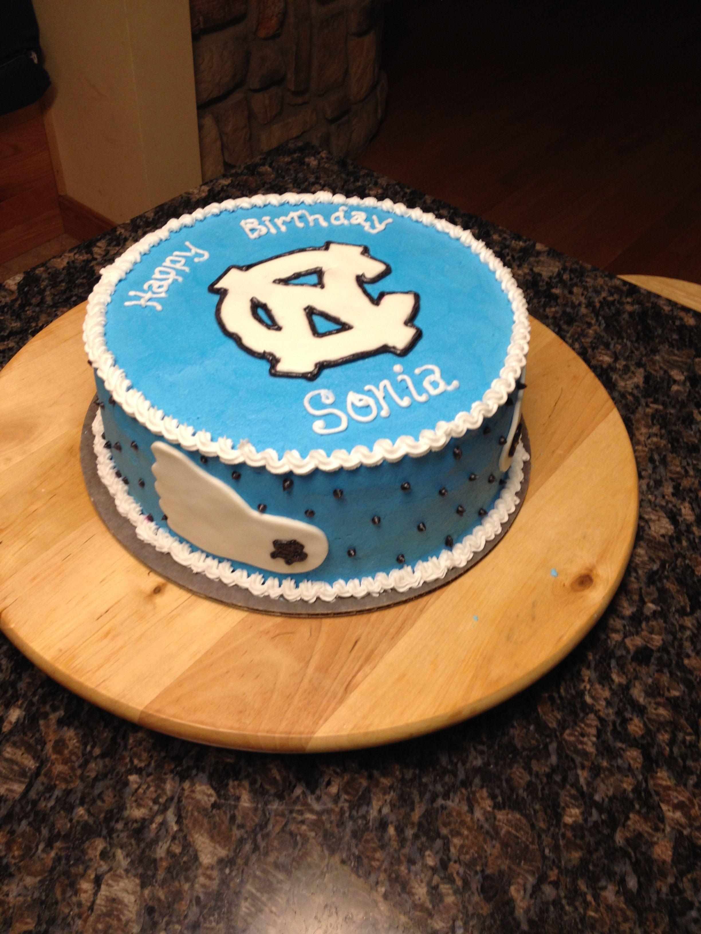 Tarheels Birthday Cake