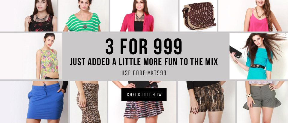 Buy 3 Products At Rs 999 At Shopnineteen For More Couponcodes
