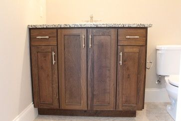Stained Poplar Cabinets With Images Staining Cabinets Stained