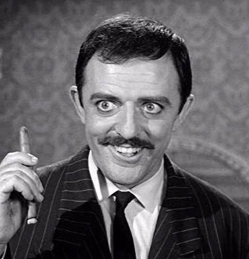 Best TV Dads: Gomez Addams - The Addams Family. http://www.albumworks.com.au/best-tv-dads