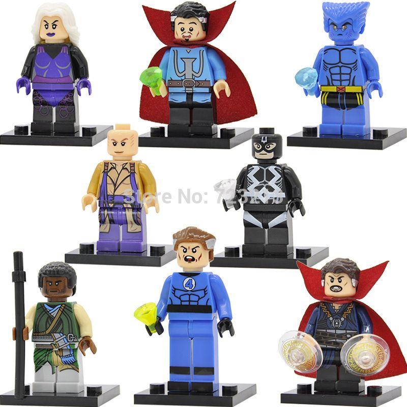 Dr FREE US TRACKED Strange - Marvel Guardians Avengers Minifigure Orange