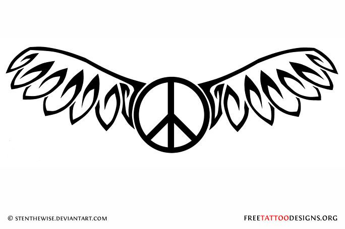 Pin By Jennifer Cox On Peace Signs Pinterest Peace Sign Tattoos