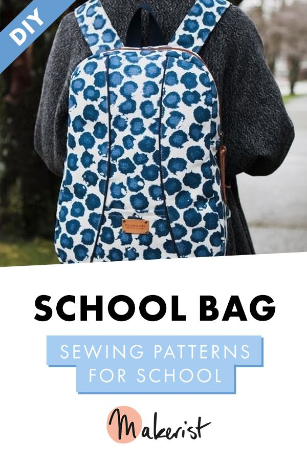 1349 Shelly Backpack PDF Pattern | Back To School