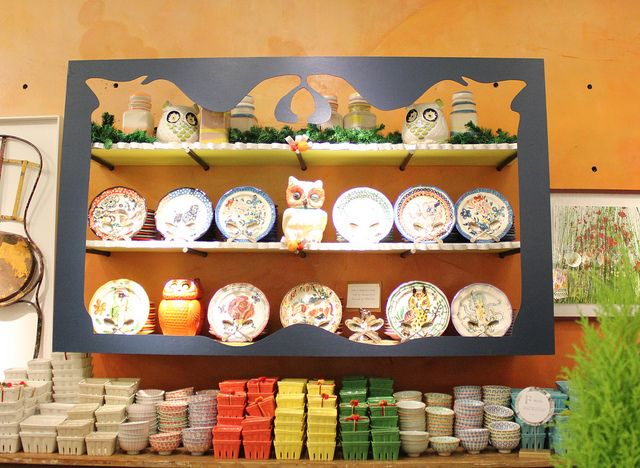 cut frame around shelves