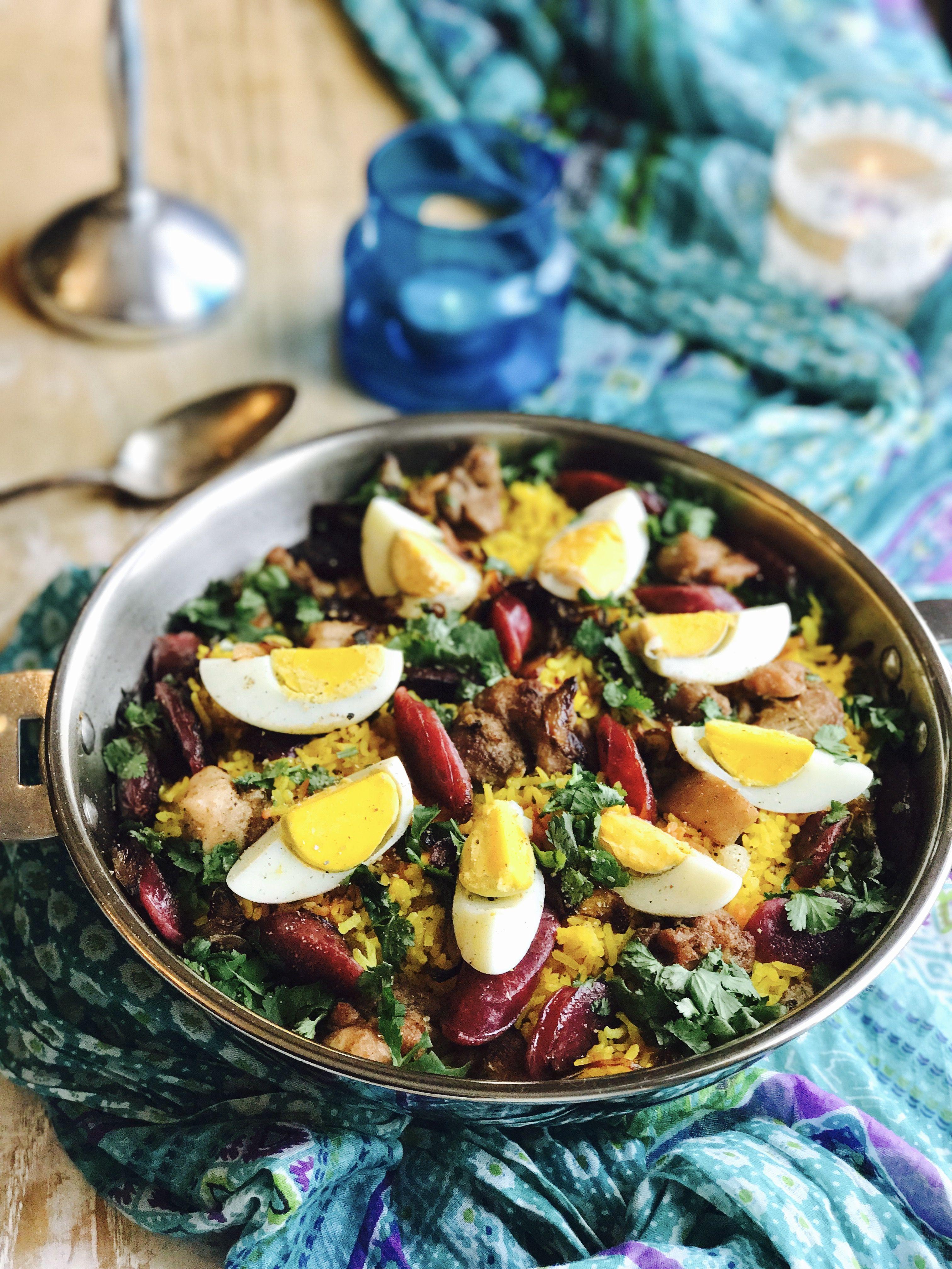 Plot riz pulao la mauricienne une recette cr ole de l 39 le maurice pinterest saucisse - Cuisine mauricienne chinoise ...
