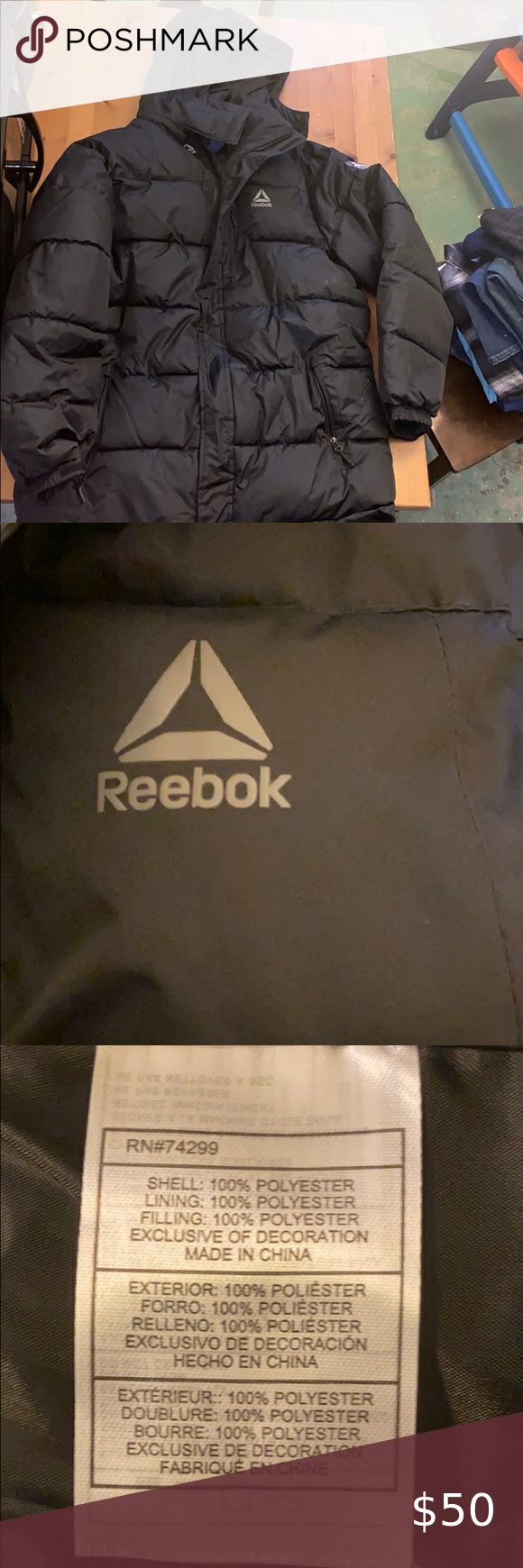 Reebok Puffer Jacket Puffer Jackets Black Puffer Jacket Reebok [ 1740 x 580 Pixel ]