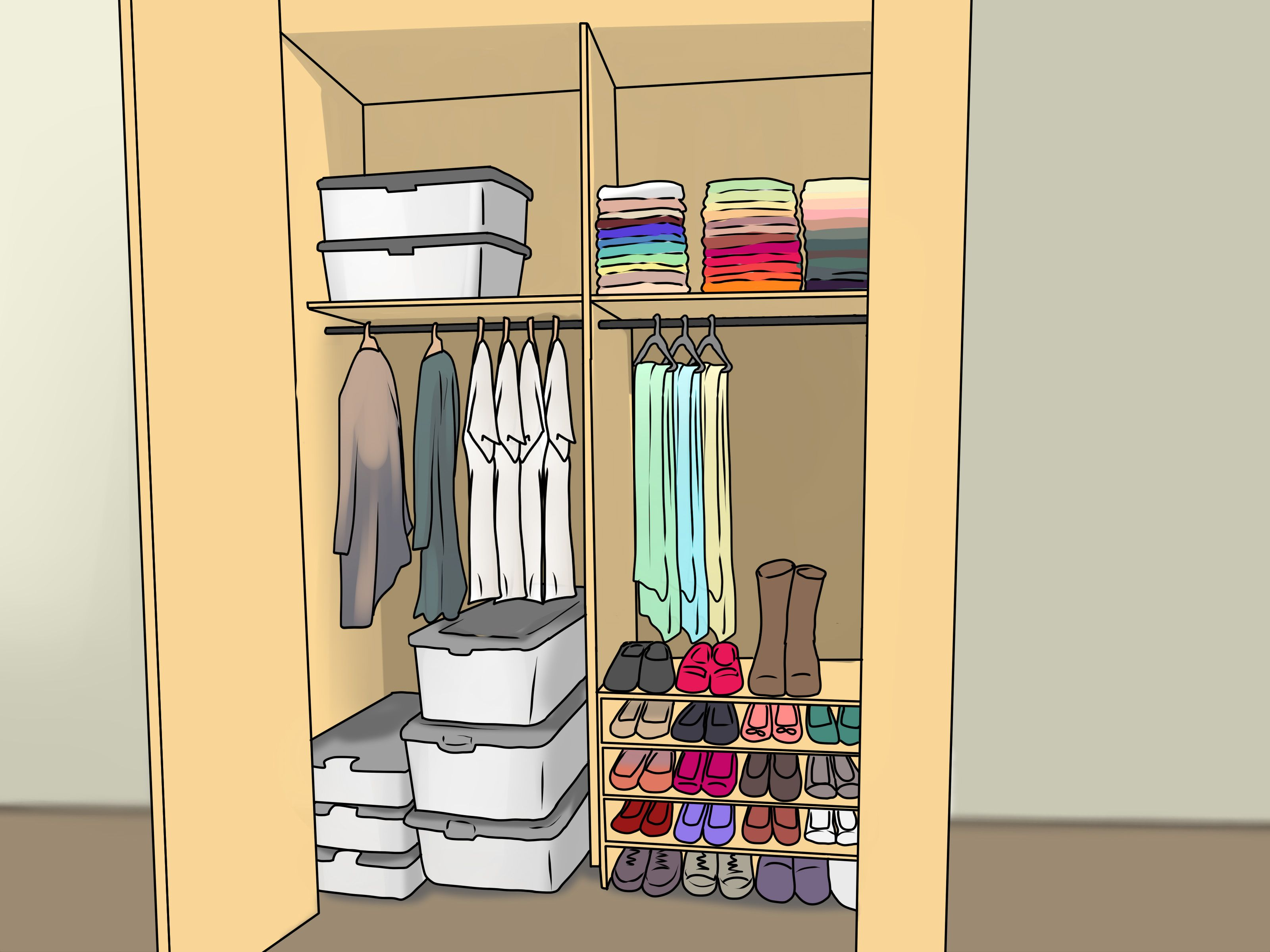 Organize Your Closet How To Organize Your Closet Clothes Closet
