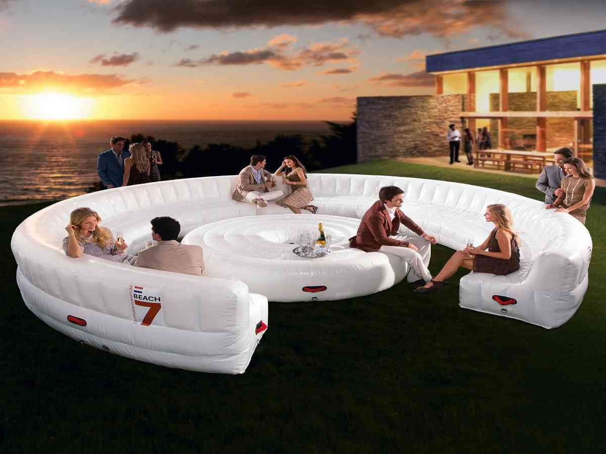 Blow Up Air Mattress Inflatable Sofa Inflatable Furniture Inflatable Lounger