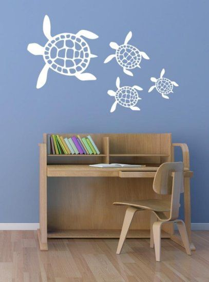 SALE  Day Only  OFF Use Coupon Code CYBERSEA TURTLE WALL - Custom vinyl wall decals groupon