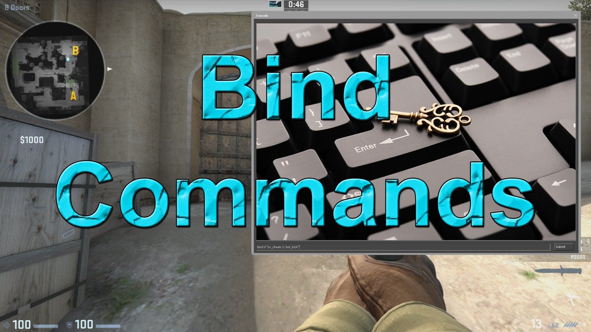 How to bind commands to a key in CS:GO | Counter-strike: Global