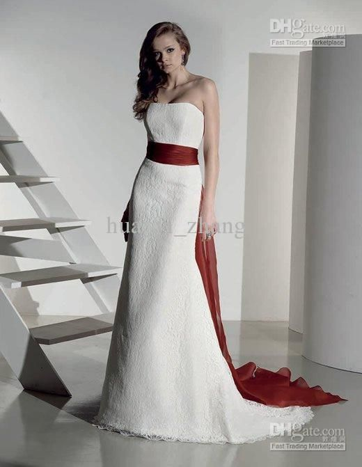 Best Wedding Dresses White And Red Pictures - Styles & Ideas 2018 ...