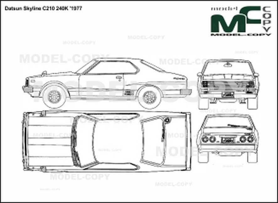 Datsun Skyline C210 240k  U0026 39 1977