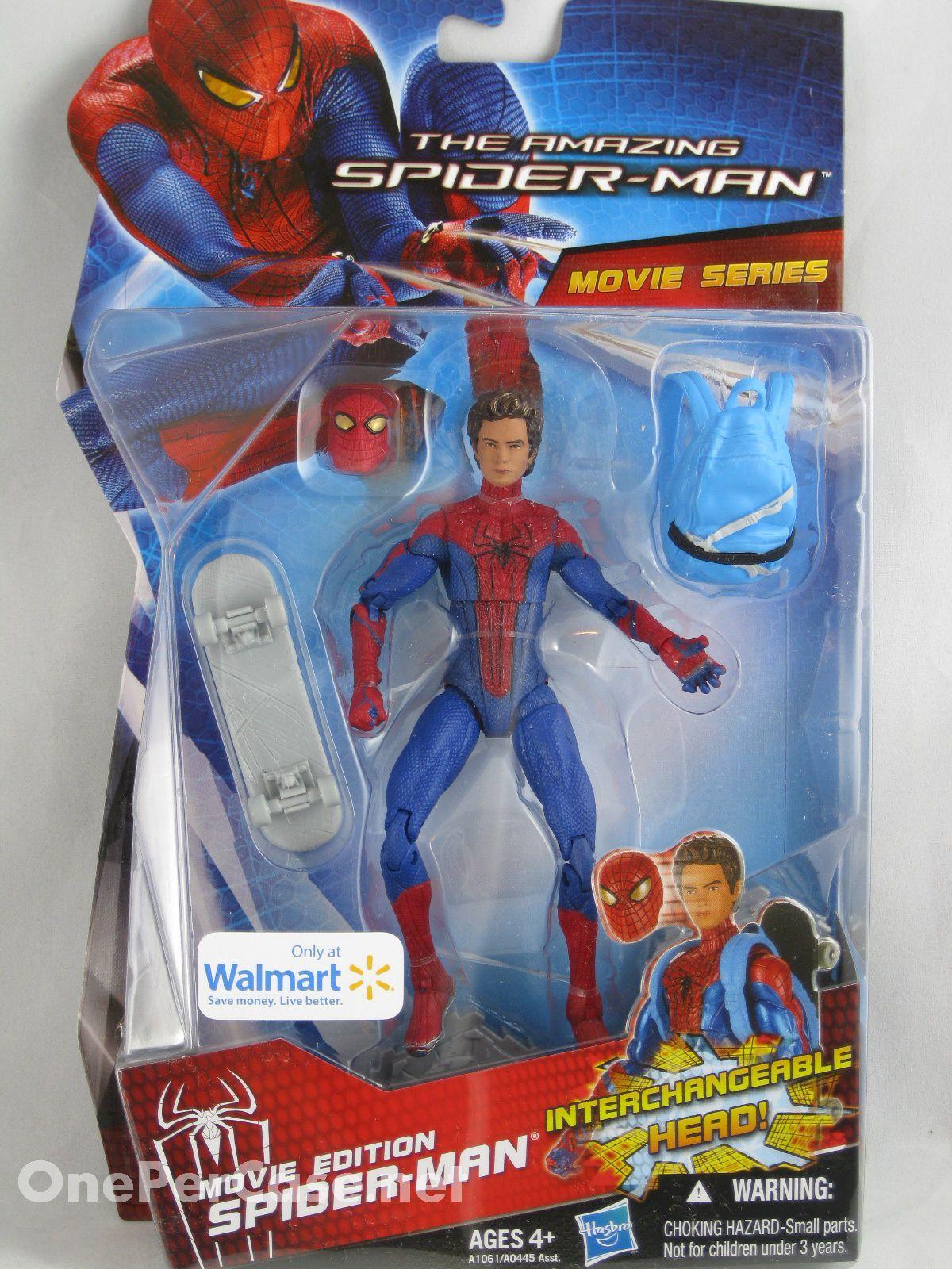 "Marvel Spider-Man 4/"" Figure On Base New 2012"