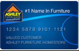 The Ashley Furniture Credit Card Is One Of The Many Department