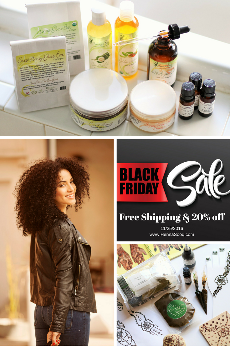 Black Friday Sales Event at Henna Sooq