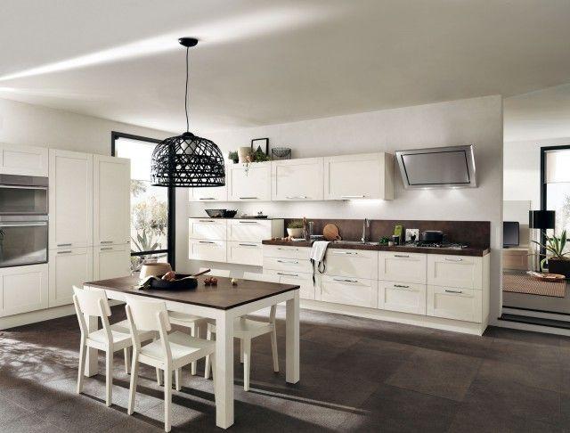 Open di Scavolini è una cucina aperta sul living caratterizzata ...