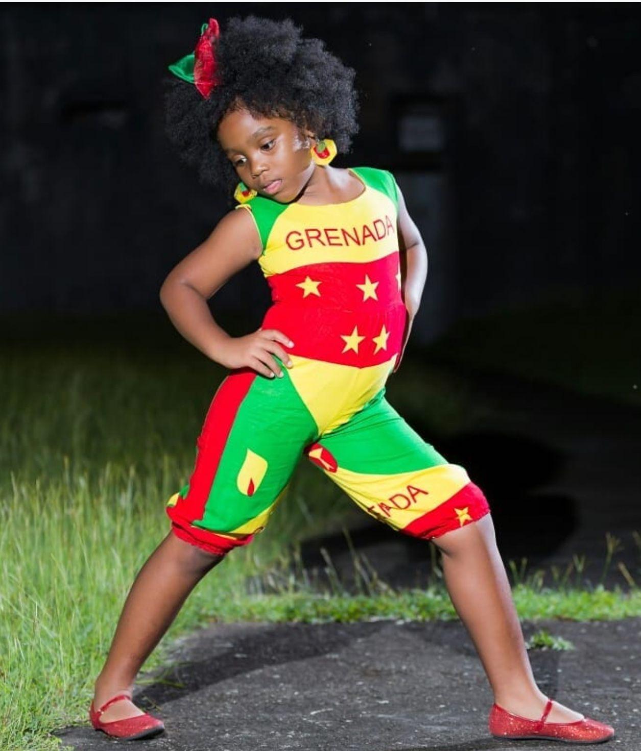 Little Girl from Grenada 🇬🇩 | Grenada in 2019 | Grenada