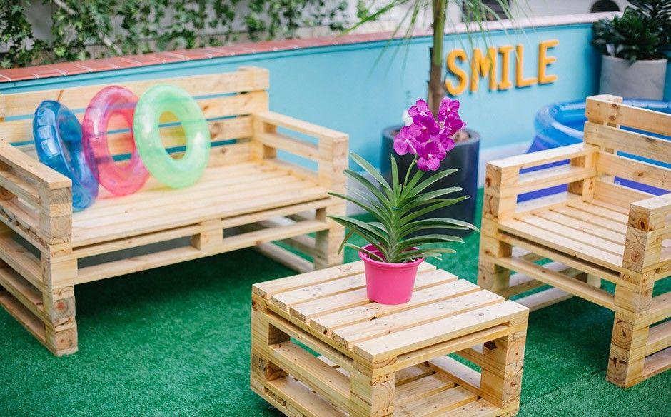 10 DIY Garden Furniture Ideas | DiyBlog | backyard diy | Fauteuil ...