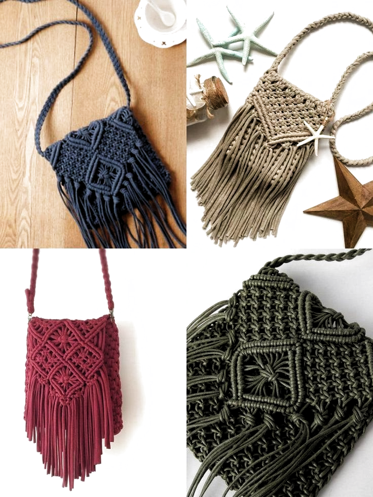 Macrame Bag: 12 Ideas to Make Your Bag ⋆ Oceanfront