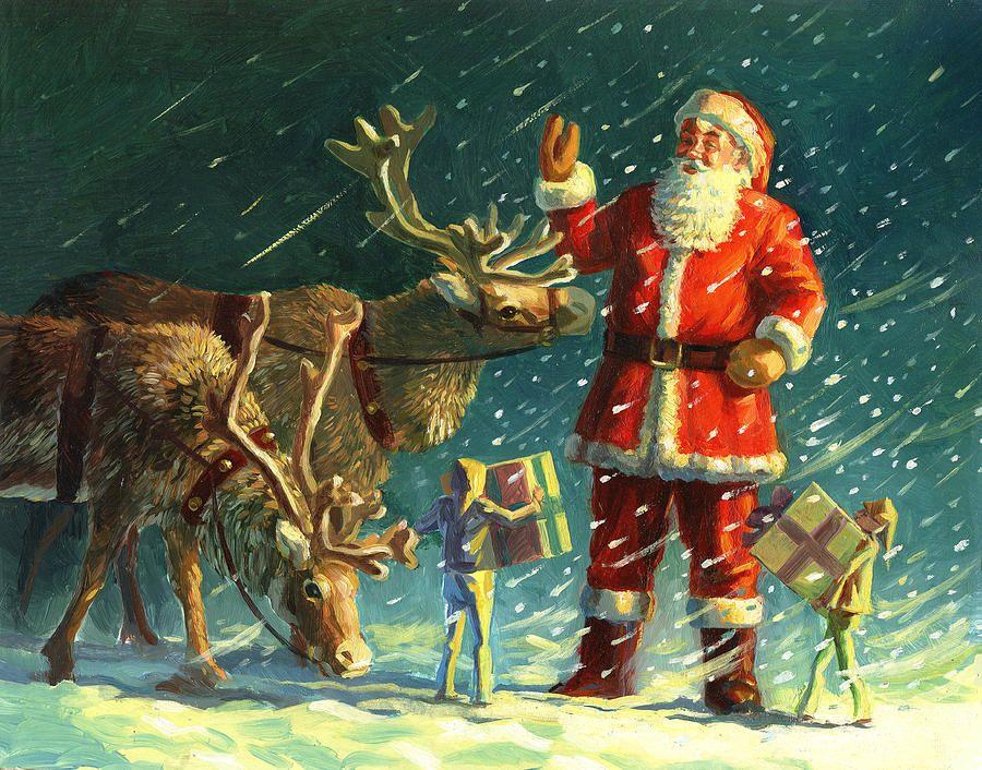 David Price —  Santas And Elves (706x900)