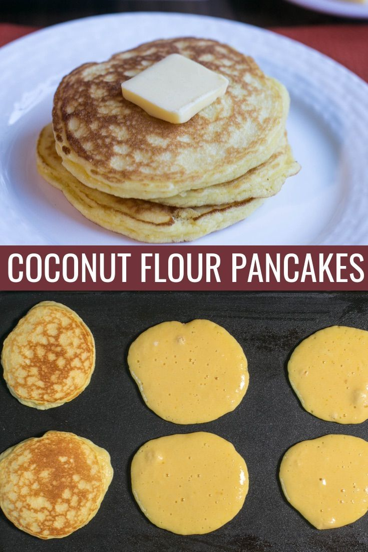 Coconut Flour Pancakes (Keto, Gluten-Free) | Low Carb Yum