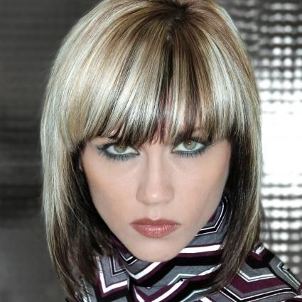 Two Tone Hair Color Examples With Pictures   LoveToKnow Gallery