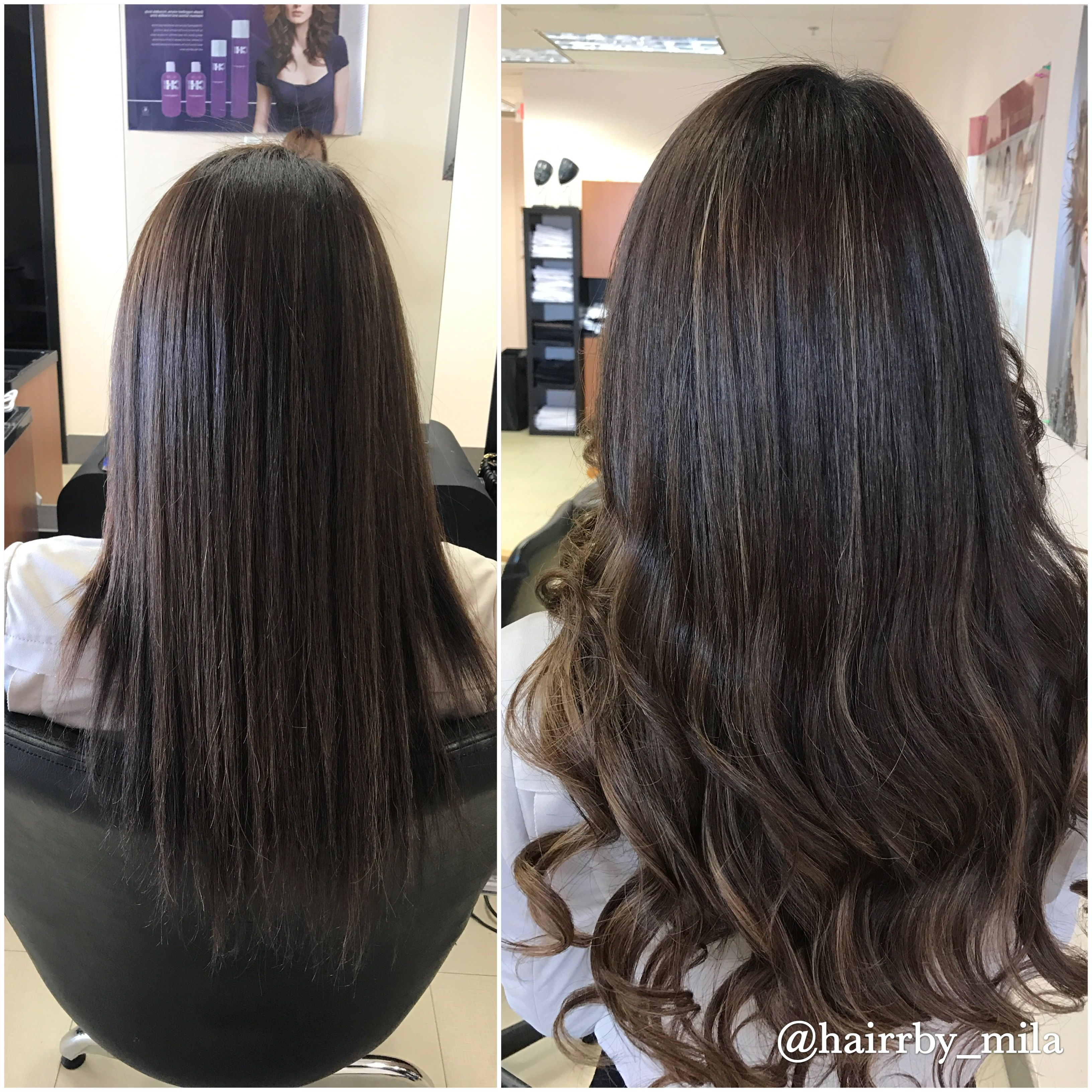 Beauty Locks Extension services before and after