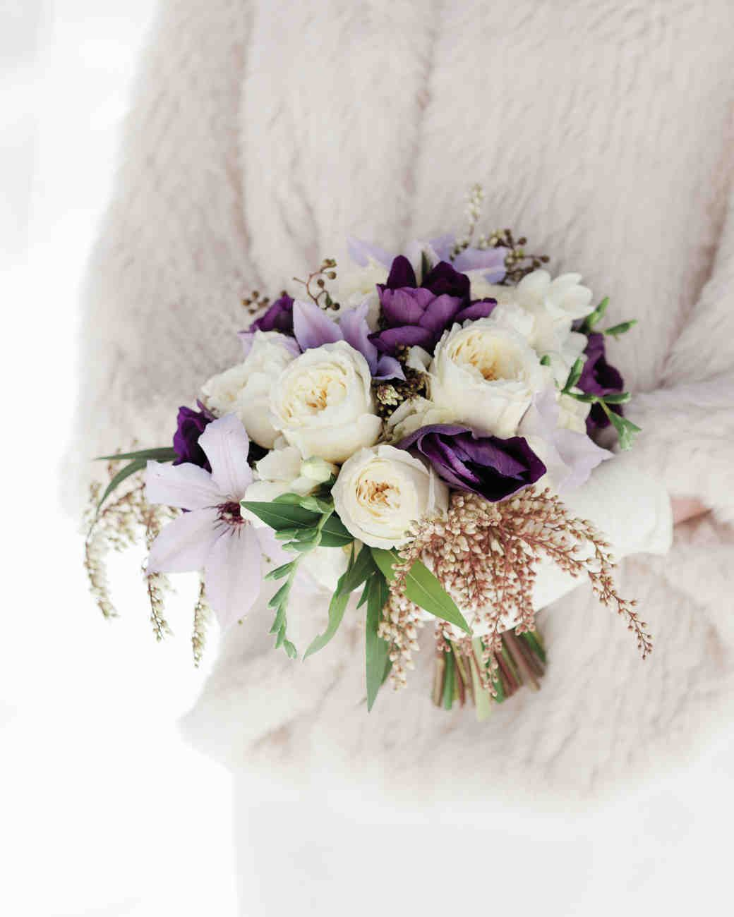 32 Absolutely Gorgeous Winter Wedding Bouquets Martha Weddings